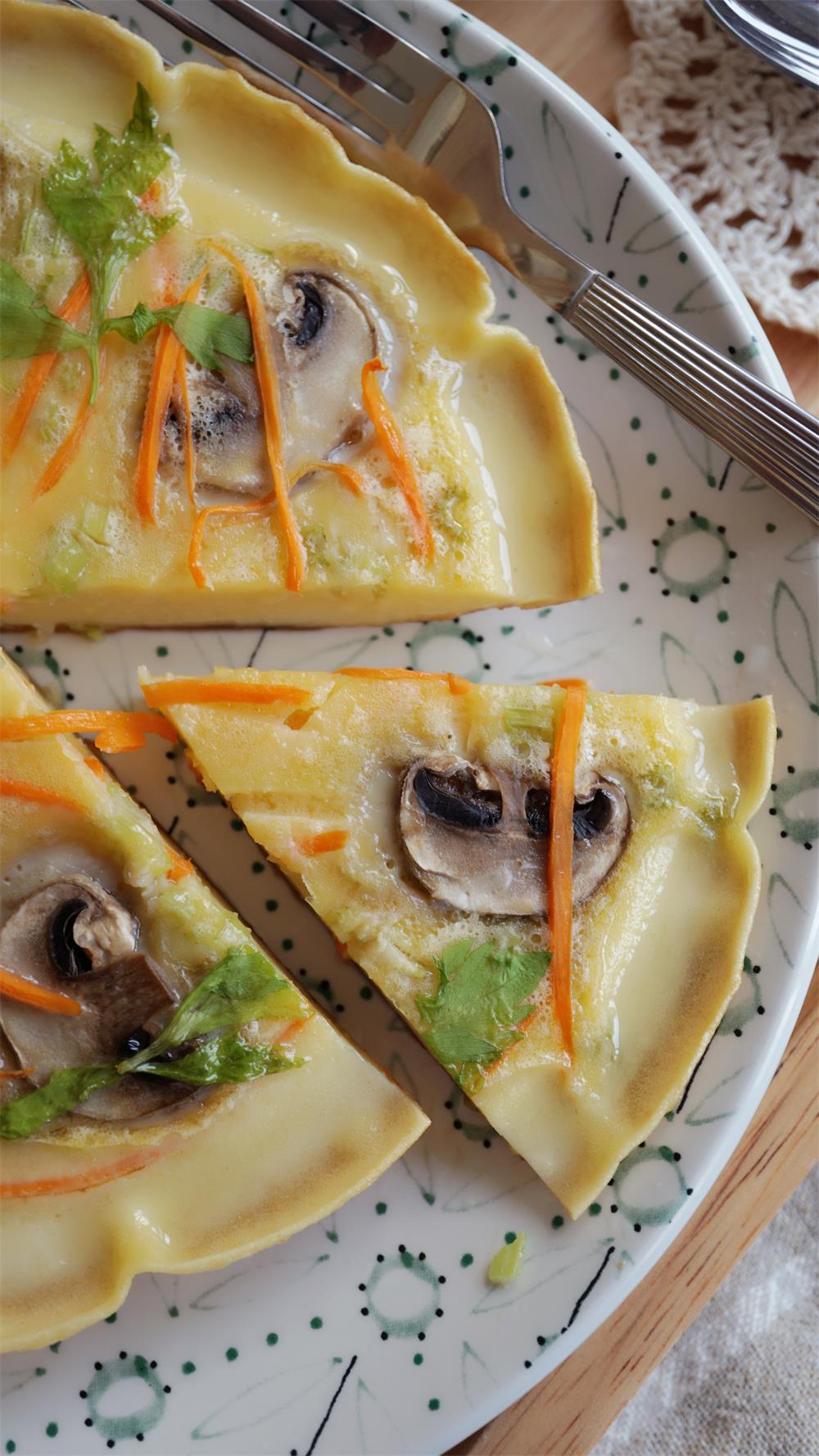 蔬菜煎蛋餅