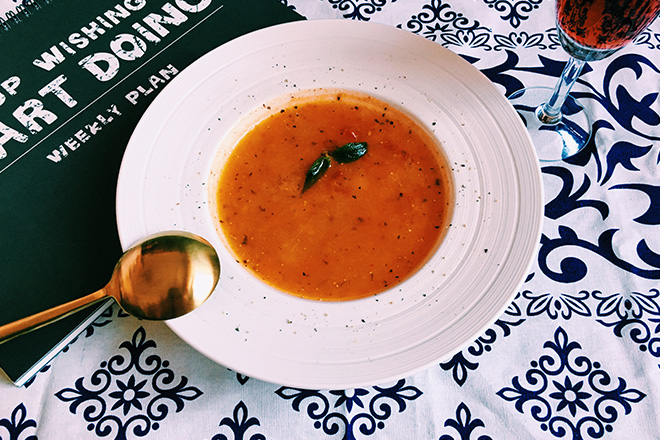 法式番茄南瓜湯