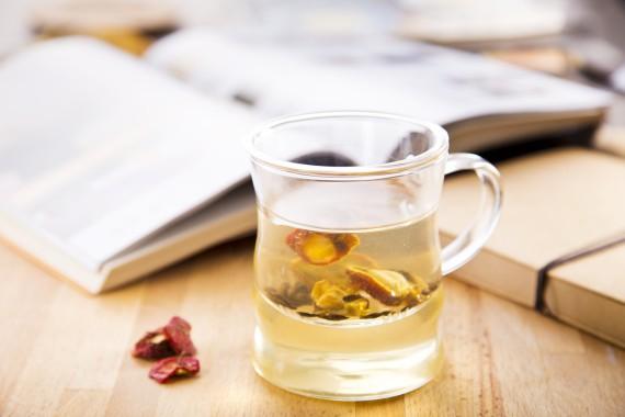 山楂大麦茶