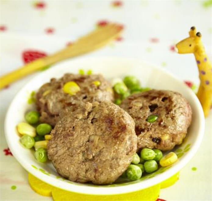 高纖豆渣芝士牛肉餅