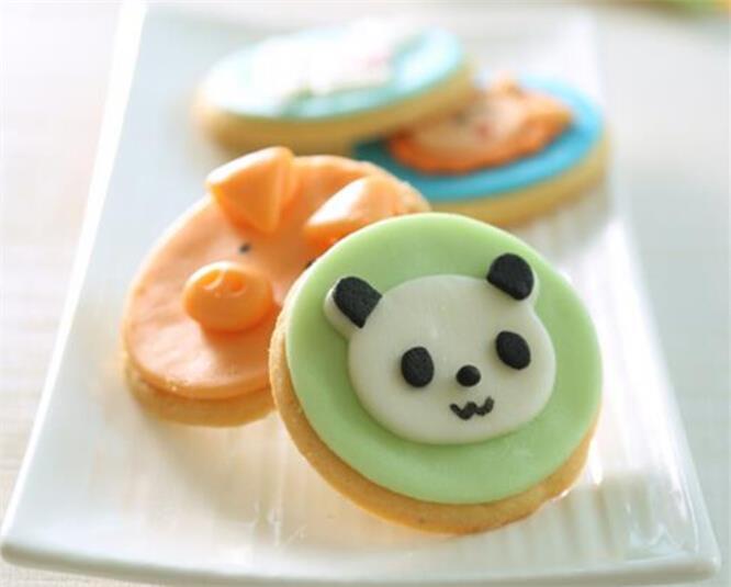 动物翻糖饼干