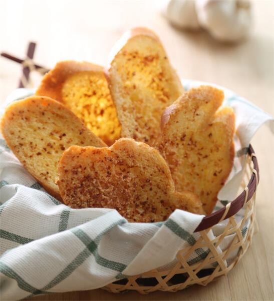 蒜香面包干