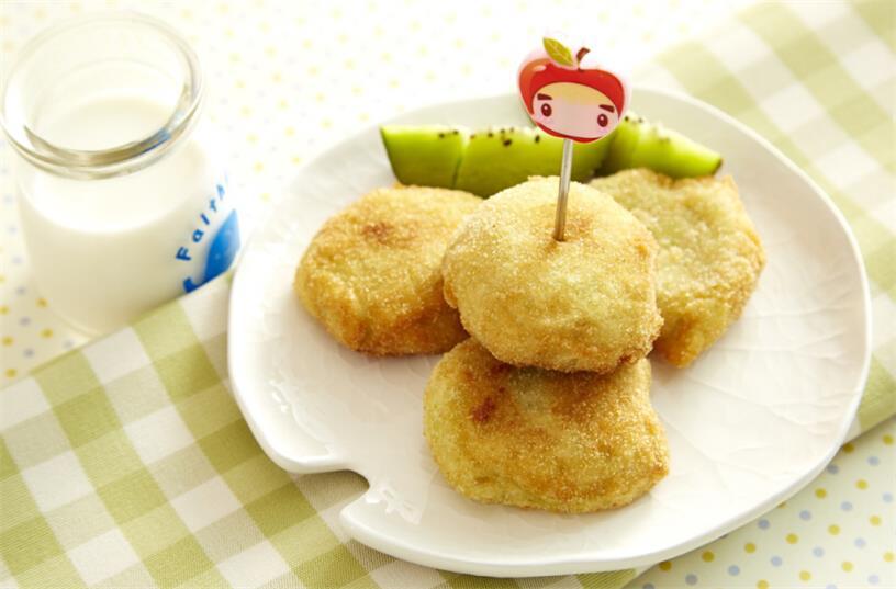 毛豆洋芋可乐饼