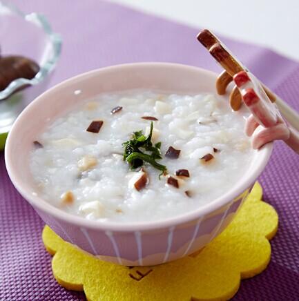香菇豆腐粥
