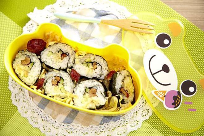 DIY素食寿司