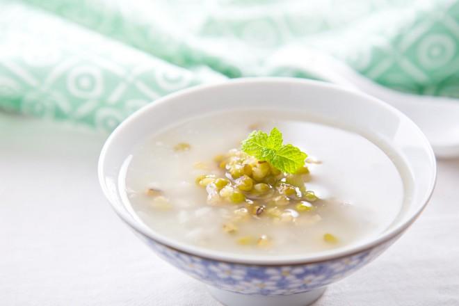 消暑绿豆粥
